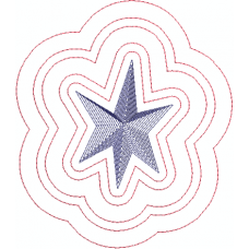 Star with outlines2