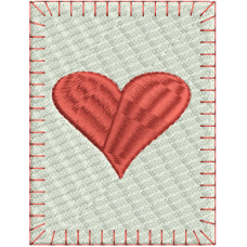 Queen of Heart large card